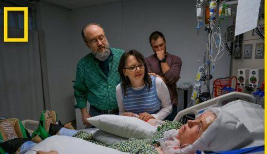 自己で顔を失った少女が顔面移植を試みるドキュメンタリー映像