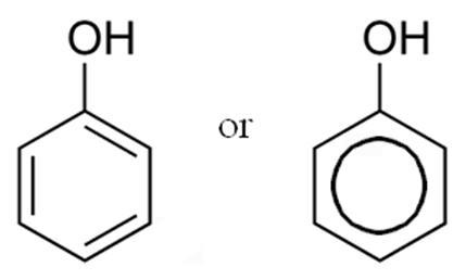 フェノール類:ベンゼン環 + ヒドロキシ基(OH)