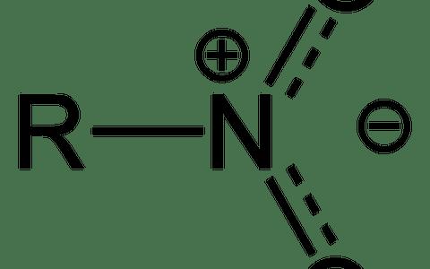 芳香族ニトロ化合物:ベンゼン環 + ニトロ基(NO2)