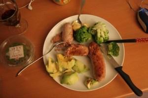 とある日の夕食