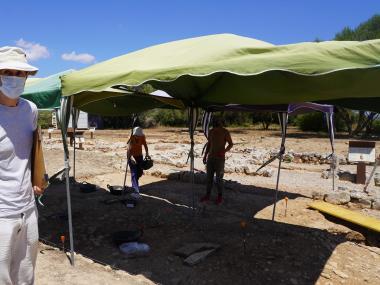 Mateu Riera, codirector de les excavacions.