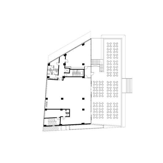 plan etaj 1 _ Hotel Floreasca