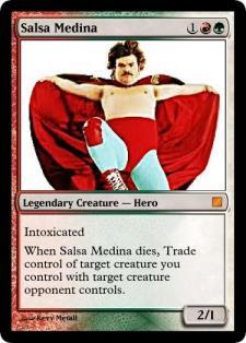 Salsa Medina, Booze Cube card