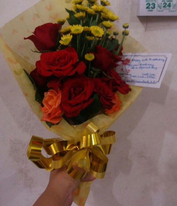 Buket Bunga Tangan Manado