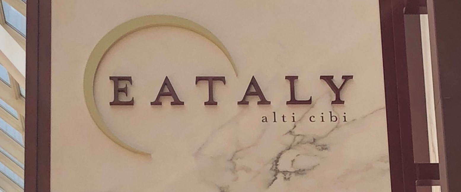 EATALY – A little Italy in the USA