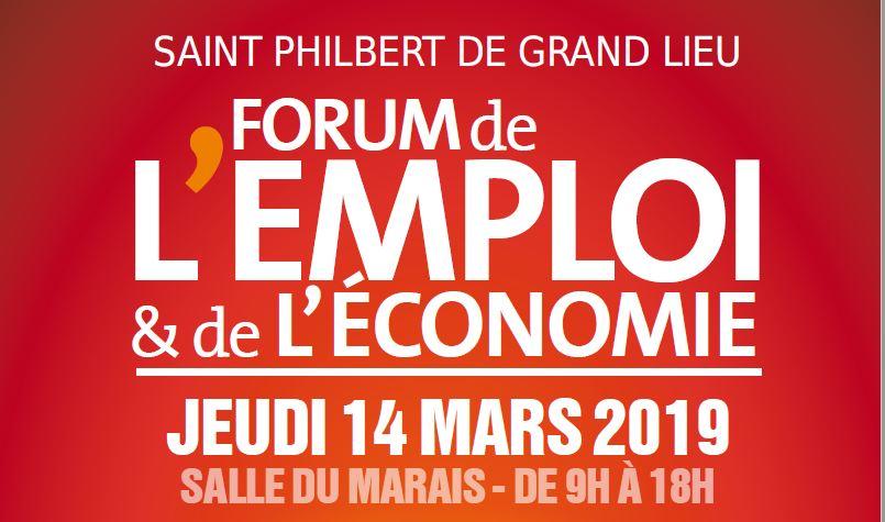 Pourquoi participer au forum de l'emploi et de l'économie à Saint-Philbert-de-Grand-Lieu?
