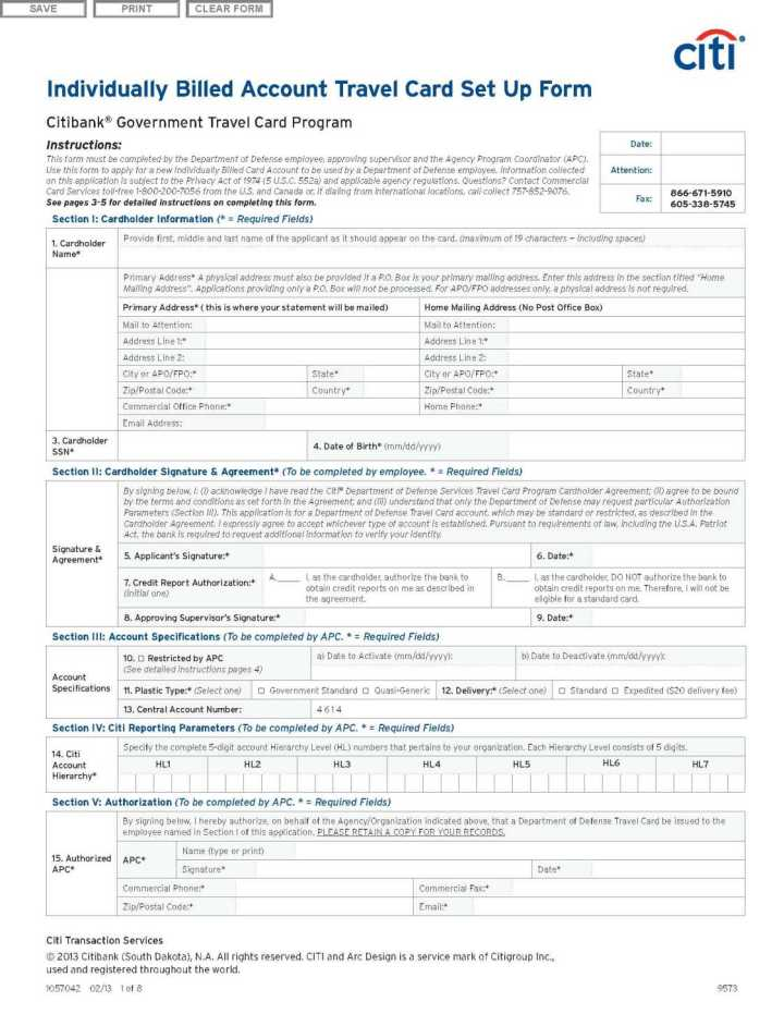 Citibank Government Travel Card Application Status | Myvacationplan org