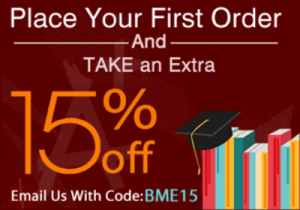 First Order Discount Code - BME15