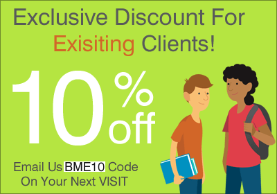 Next Order Discount Code - BME10