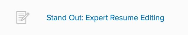 Consulting Resume Editing Desktop CTA
