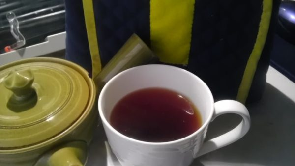 鶴製茶園20130722 八女の紅茶紅鶴2012 -茶液