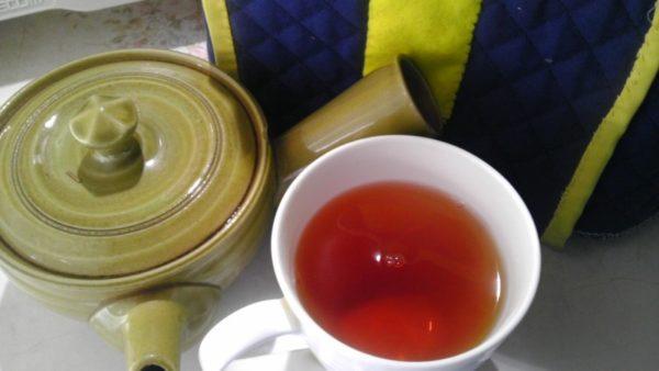 上村茶園20130723 べにちゃ2012 -茶液