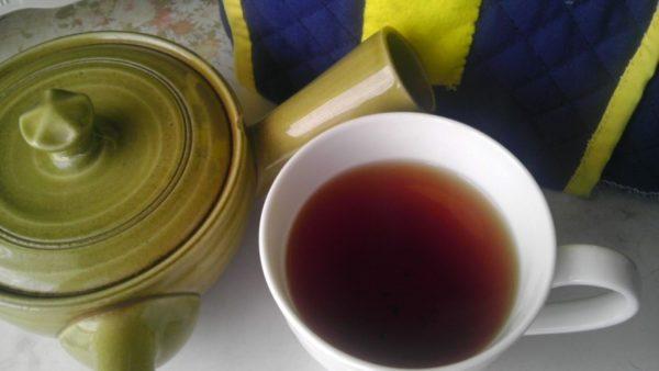 丸安茶業20130724 土山紅茶2012 -茶液