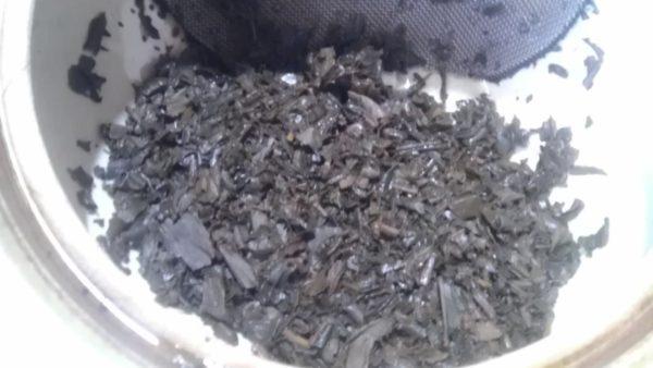 伸晃園(塗木製茶工場)20130725 知覧紅茶かなや2013 -茶殻