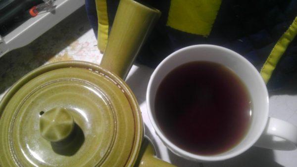 岩佐製茶20130816 高原町産紅茶2013 -茶液