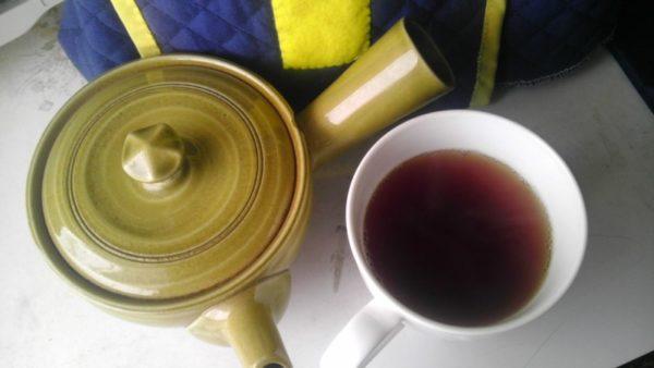 星野製茶園20130823 八女・星の紅茶2013 -茶液