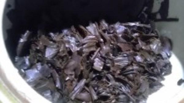 秀平農園20130827 四万十紅茶2012 -茶殻
