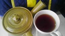 国産紅茶20130909パール紅茶赤2