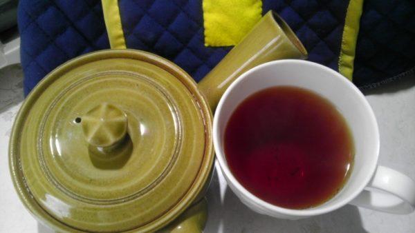 八女茶くま園20131008 奥八女上陽茶おぼろ紅茶(緑) -2