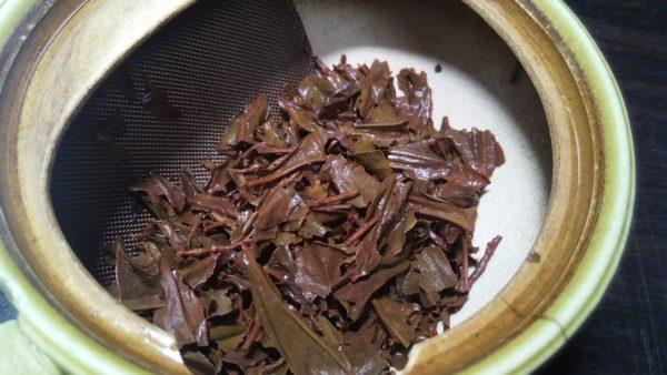 杵築紅茶 きつき紅茶べにひかり2016秋 -茶殻