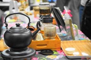 大大阪お茶会2018 雅楽茶さんの試飲用の茶器