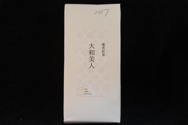【奈良県】みとちゃ農園:蜜香紅茶大和美人2017-パッケージ