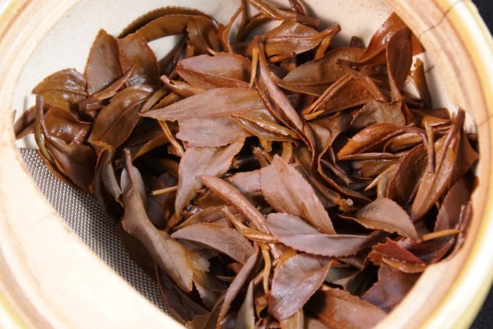 春日の紅茶和香葉SF2019 :春日ティーファクトリー【岐阜県】-茶殻
