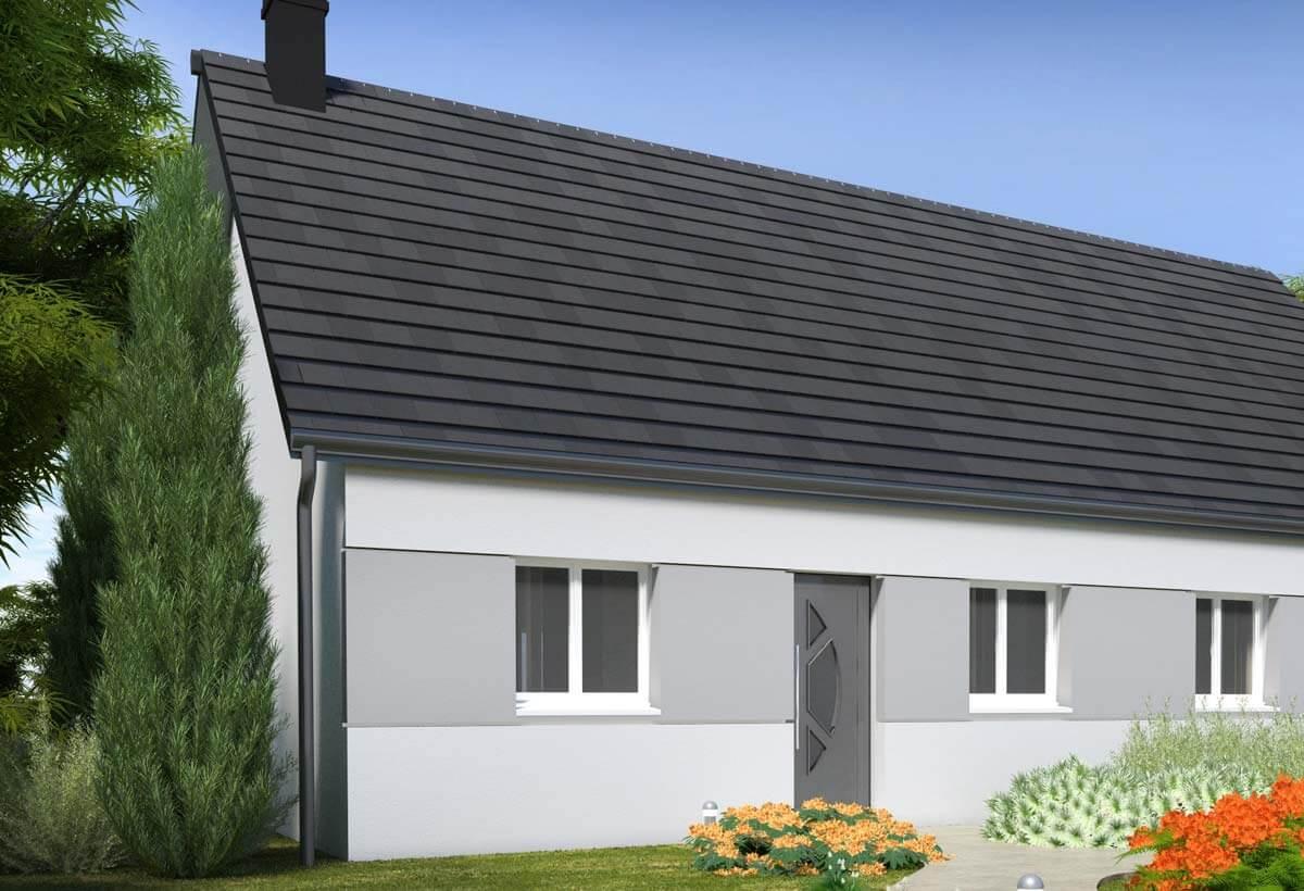Plan Maison Individuelle 3 Chambres 104 Habitat Concept