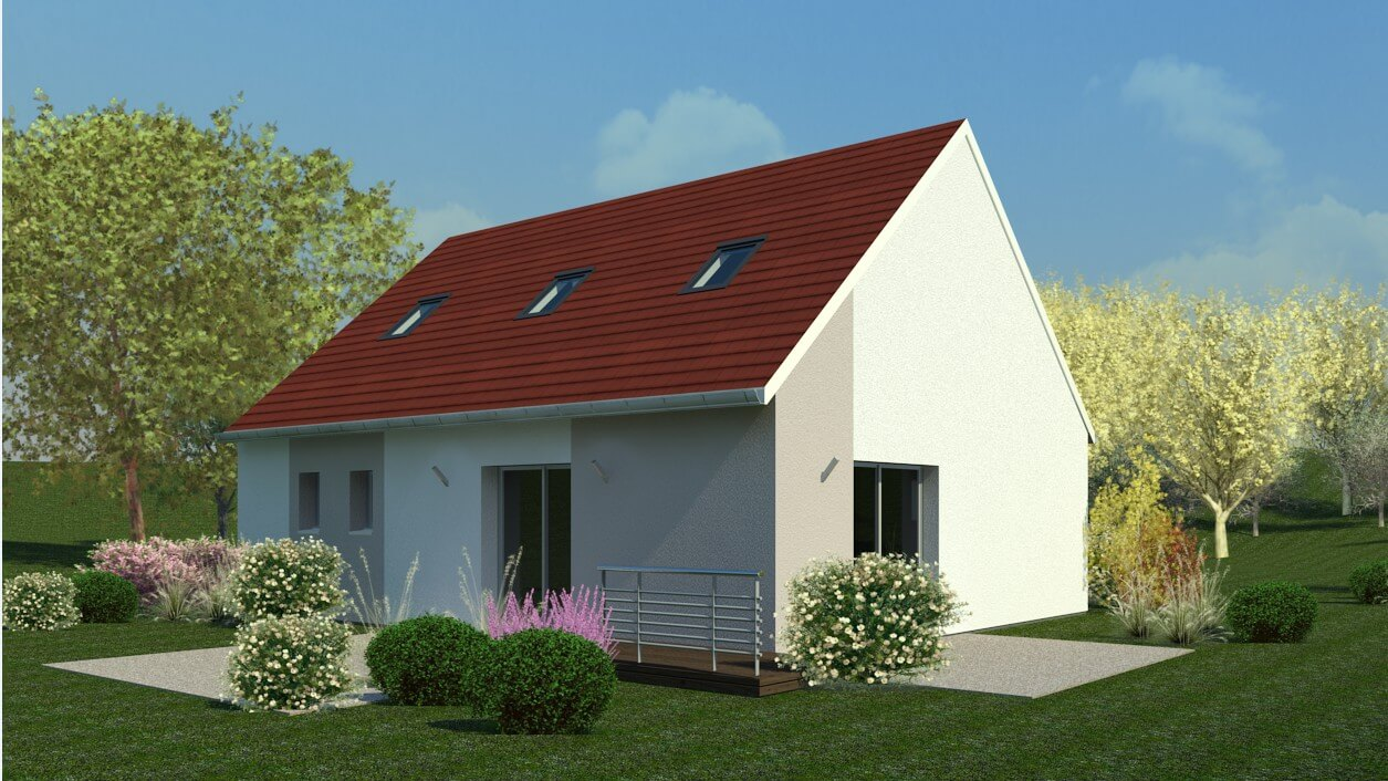 Plan Maison Individuelle 3 Chambres 18 Habitat Concept