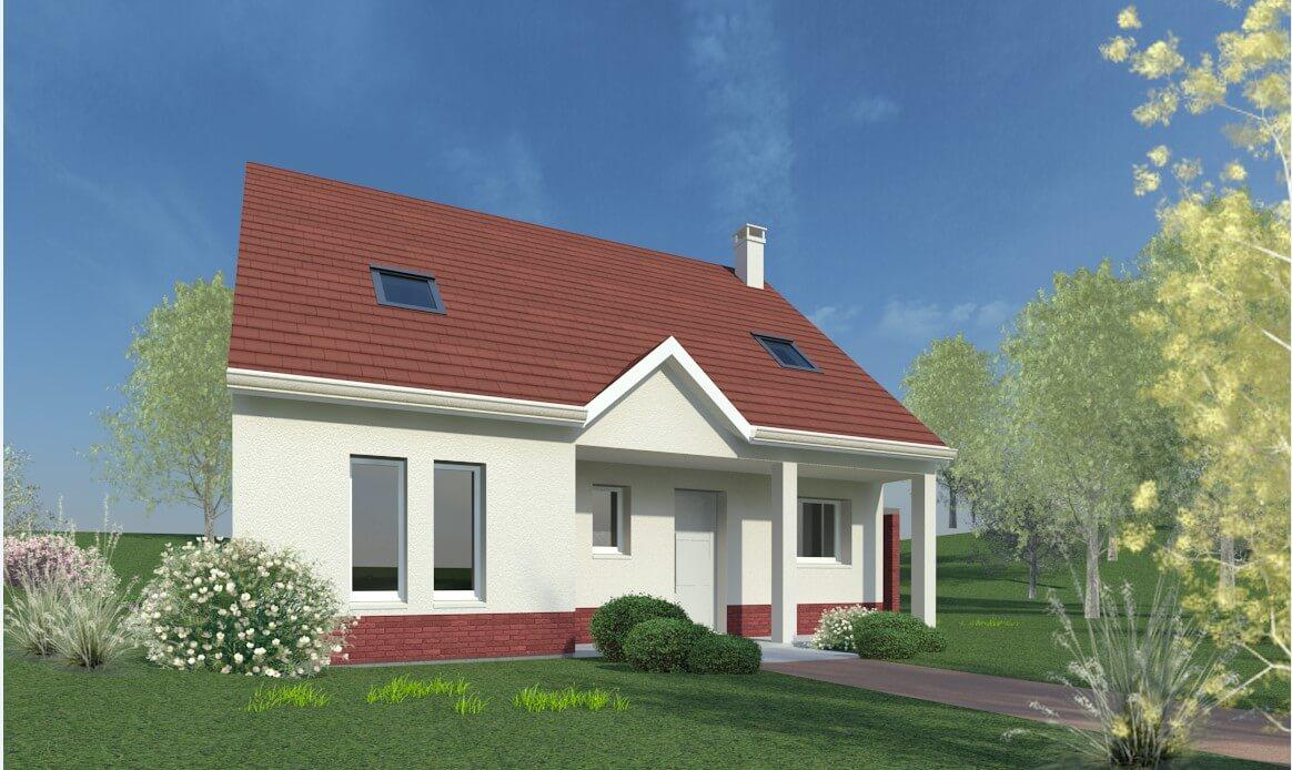 Plan Maison Individuelle 4 Chambres 32 Habitat Concept