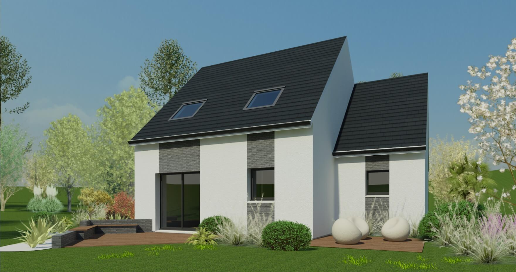 Plan Maison Individuelle 3 Chambres 50 Habitat Concept