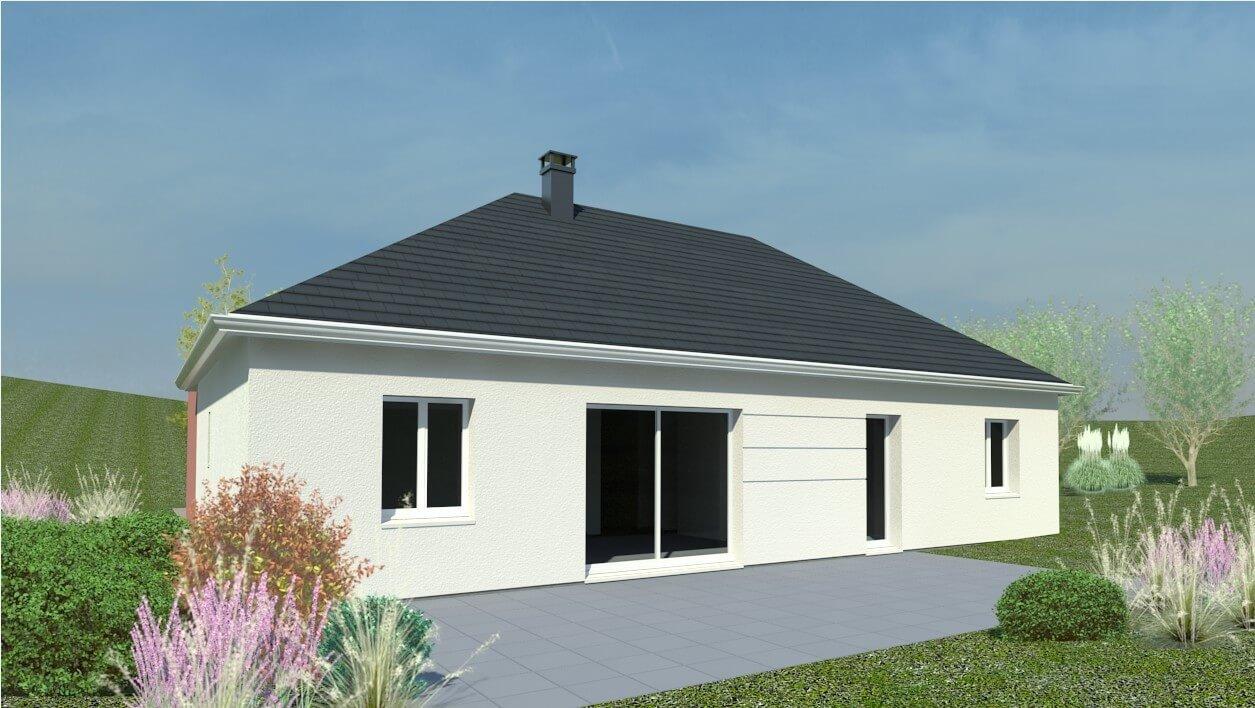 Plan Maison Individuelle 3 Chambres 51 Habitat Concept