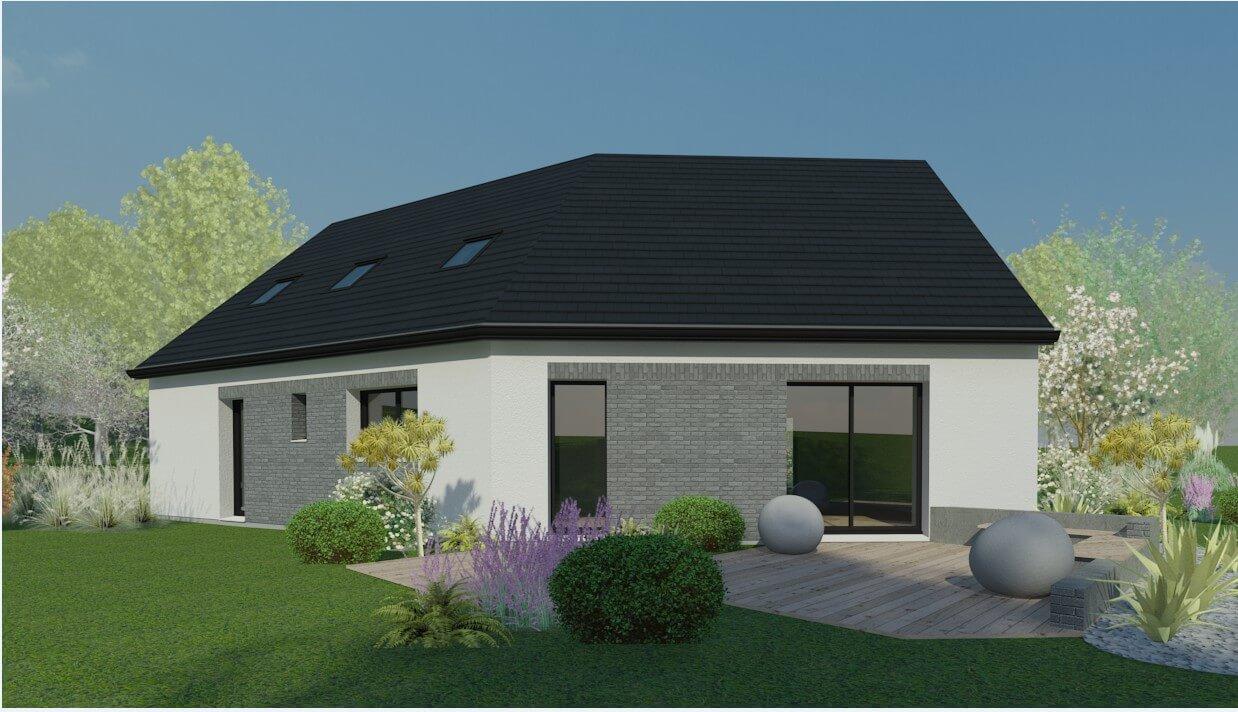 Plan Maison Individuelle 4 Chambres 80 Habitat Concept