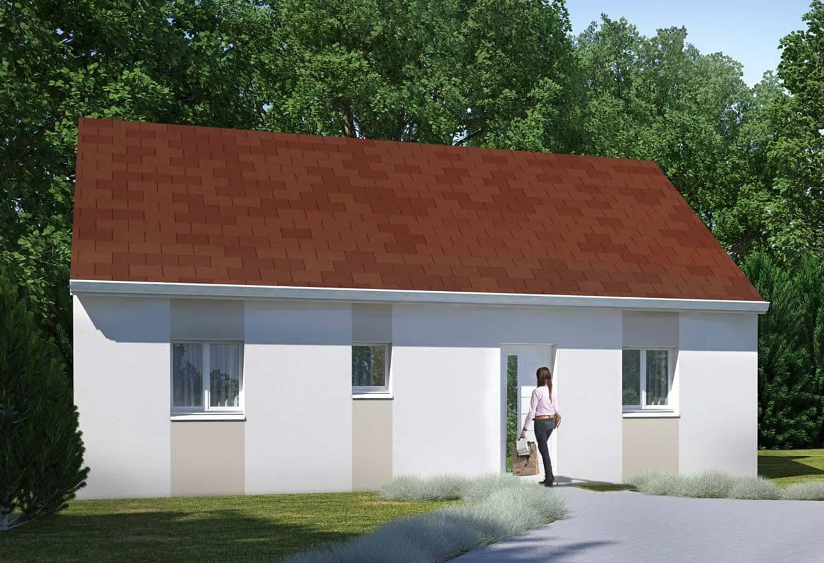 Plan Maison Individuelle 2 Chambres 92 Habitat Concept