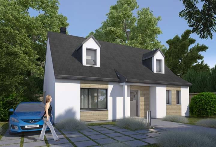 plans de maisons habitat concept