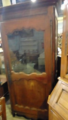 bonnetiere vitrine ancienne occasion