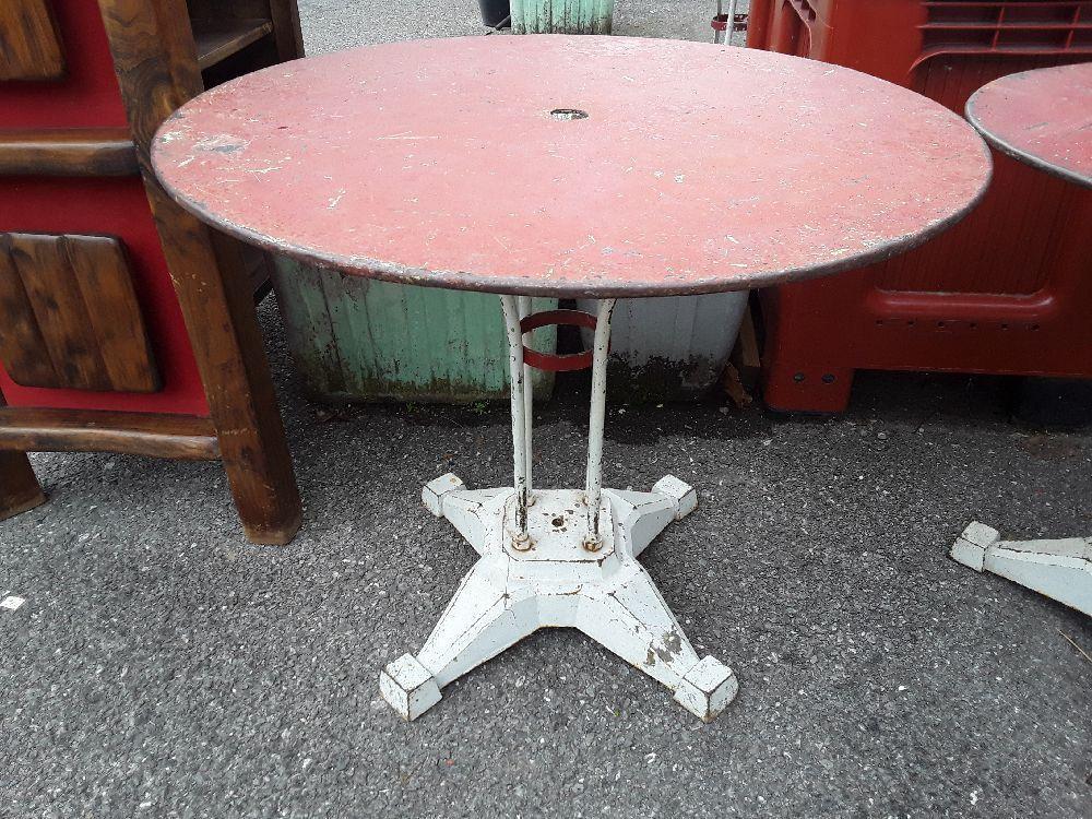 table bistrot bar terrasse retro art