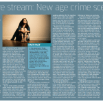 Live stream: New age crime scene