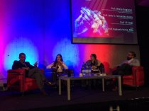 JP Singh, Raphaela Henze, Milena Dragićević Šešić, and Javier Hernández-Acosta participated in a panel discussion exploring cultural relations in our current context of globalisation and the rise of populism.