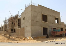 8 Marla Bahria Homes Karachi Under Construction
