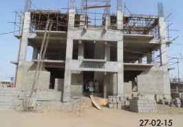 Bahria Karachi Apartments Work in Progress
