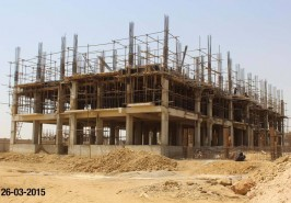 Bahria Karachi Hospital work In Progress