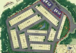 Bahria Town Awami Villas 2 Map