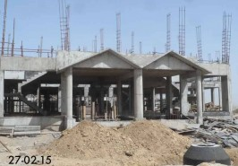 Bahria Town Karachi 125 Sq.Yards Bahria Homes being Constructed