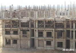 Bahria Town Karachi Apartments Under Construction