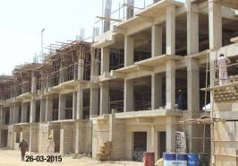 Bahria Town Karachi Apartments UnderWay