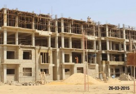 Bahria Town Karachi Apartments Work In Full Swing