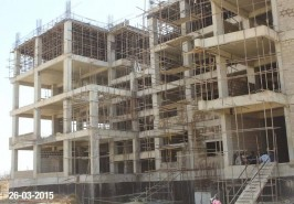 Bahria Town Karachi Apartments Work Under progress