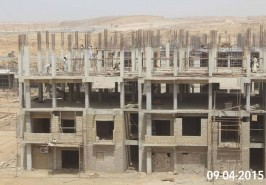 Bahria Town Karachi Apartments construction Underway