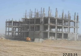 Bahria Town Karachi Development Work of Hospital